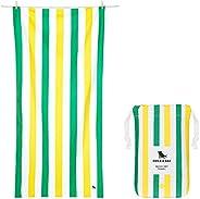 Sand Free Beach Towels for Kids - & Adults, Travellers - Paradise Picnics, Large (160x80cm, 63x31) - Swim
