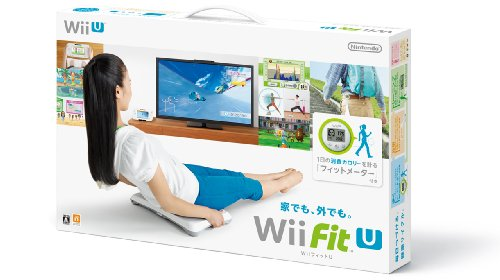 Wii Fit U バランスWiiボード (シロ) + フィットメーター (ミドリ) セット - Wii U