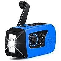 oenbopo ラジオ 多機能 ライト付き ポケットラジオ 3つ給電式 防災 懐中電灯 SOS 停電 地震などの緊急に対応 (ブール01)