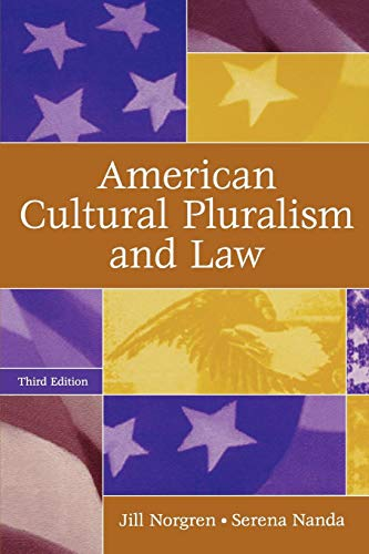 Download American Cultural Pluralism and Law 0275986993