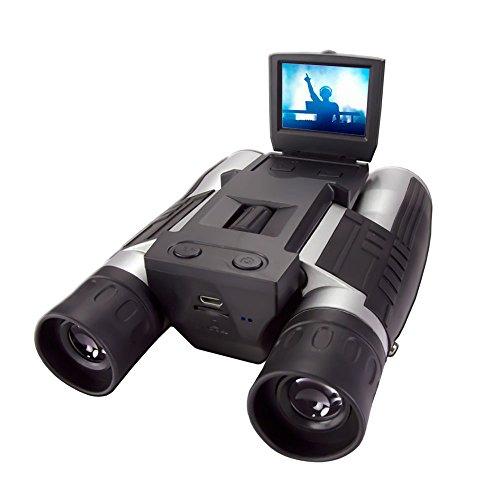 光学12倍 デジタル32倍ズームデジタルカメラ双眼鏡【LIVE REC 680R】