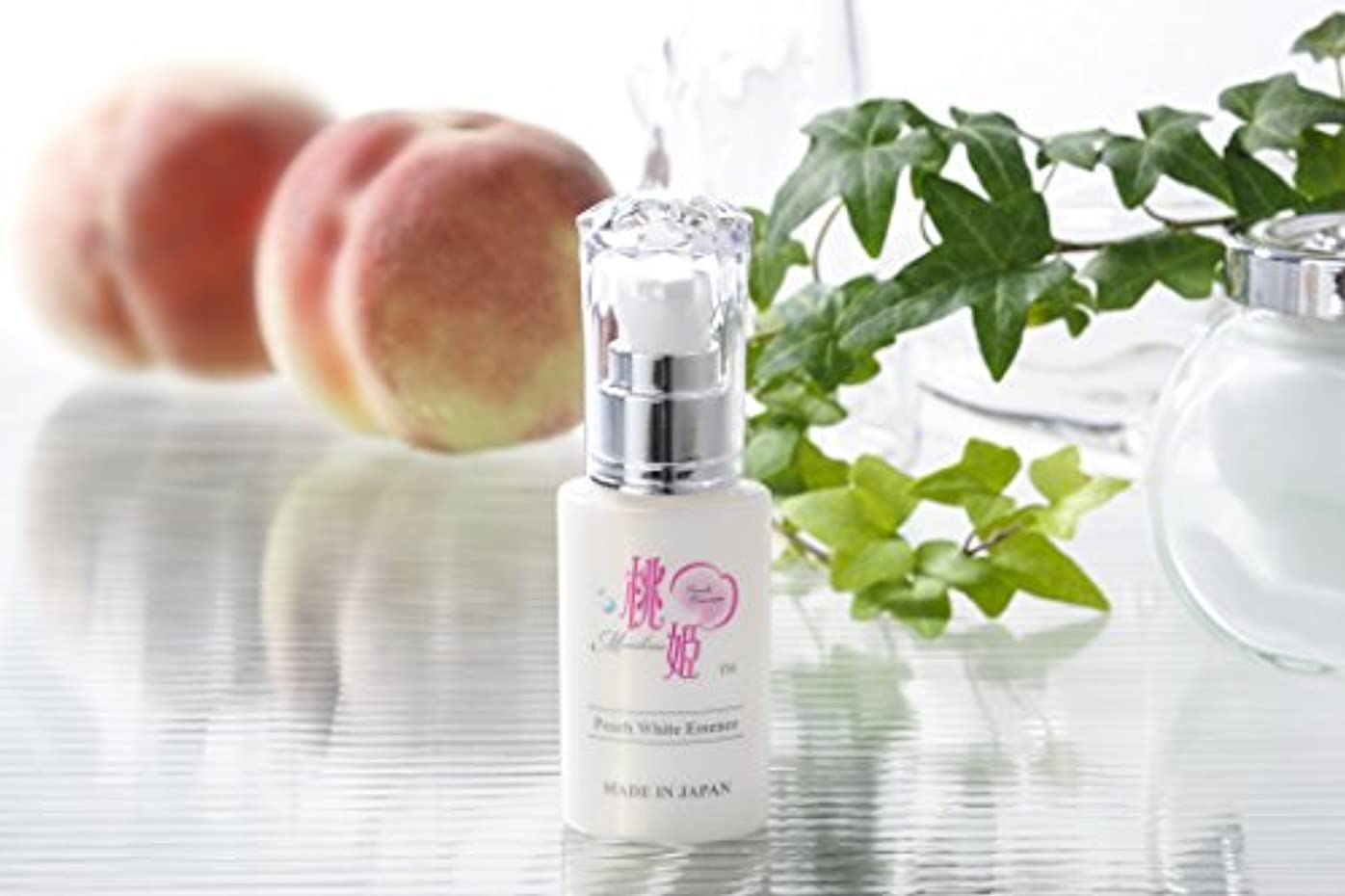 カナダヒゲクジラ知覚的ピーチホワイトエッセンス(ハラール認証) Peach White Essence (Halal-Certified)