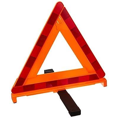 エーモン 三角停止板 国家公安委員会認定品(認定番号 交F16-2) 6640