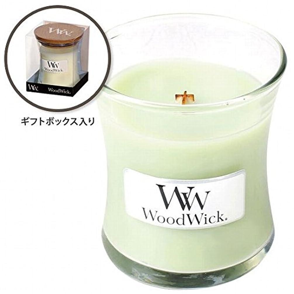 ミル本質的に酸化するウッドウィック( WoodWick ) Wood WickジャーS 「ライムジェラート」