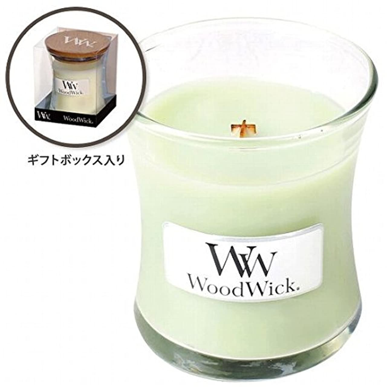滴下精神医学自動車WoodWick(ウッドウィック) Wood WickジャーS 「ライムジェラート」(W9000561)