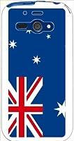 ohama WX04SH AQUOS PHONE es アクオスフォン ハードケース 国旗A-17 オーストラリア スマホ ケース スマートフォン カバー カスタム ジャケット willcom