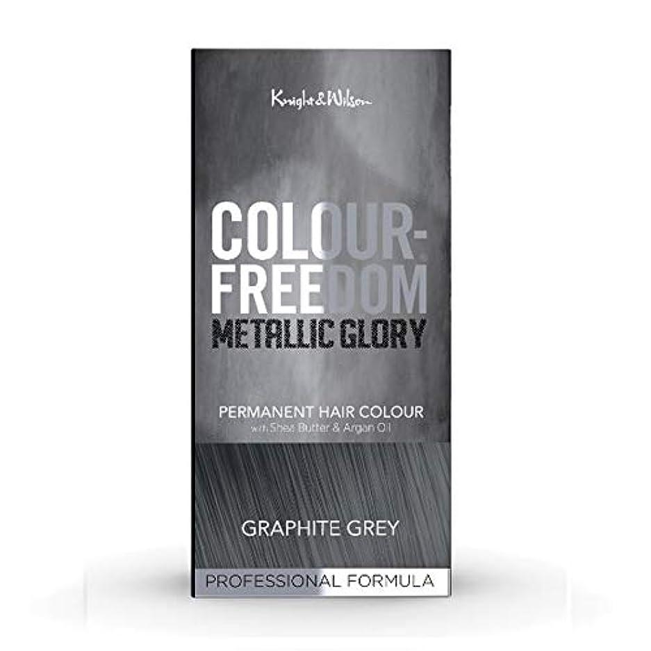 憲法ネブレポートを書く[Colour Freedom ] 色自由金属栄光グラファイトグレー617 - Colour Freedom Metallic Glory Graphite Grey 617 [並行輸入品]