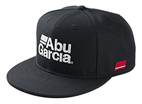 アブガルシア ABU フラットビルキャップ BLACK