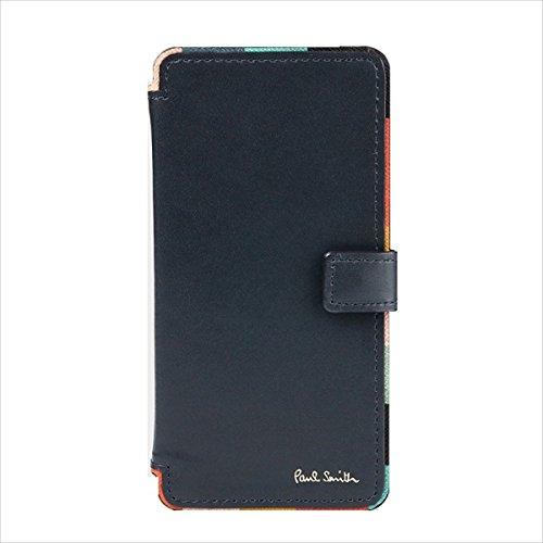 ポールスミス Paul Smith メンズ 財布 長財布 アーティスト ストライプ iPhone 6 6s 7 CASE ネイビー