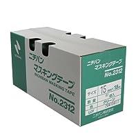 ニチバン No.2312 マスキングテープ(車両用) 15mm×18M 80巻入