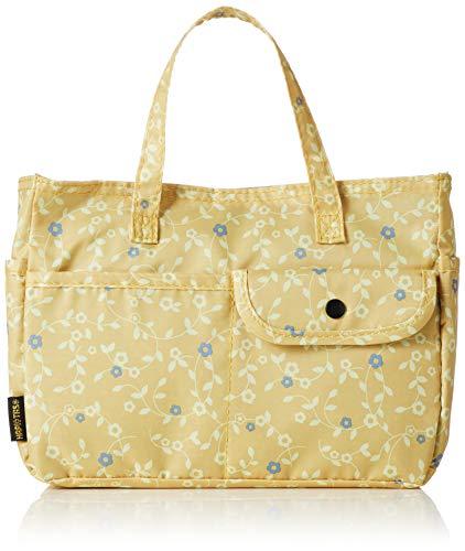 [ハピタス] バッグインバッグ H0008 406花のワルツイエロー