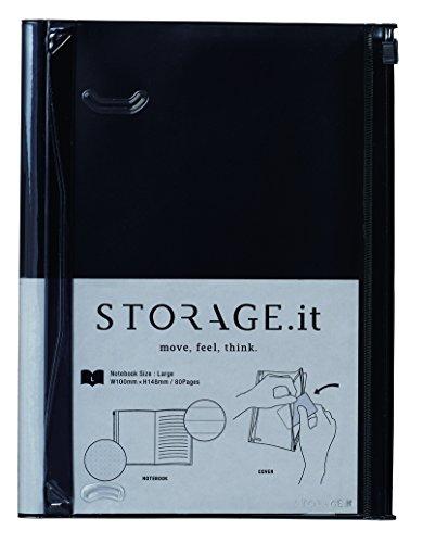 マークス storage.it ノート L ブラック STI-NB44-E