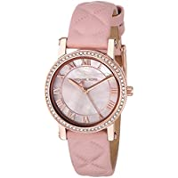 Michael Kors Women's MK2683 Quartz Stainless Steel and Leather Casual Watch