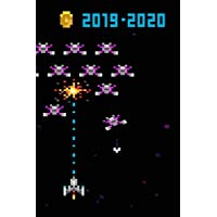 Retro Space Game Diary Mid Year Academic Planner With Schedules, Trackers. Logs, Reports, Goal Setting & Positive Quotes