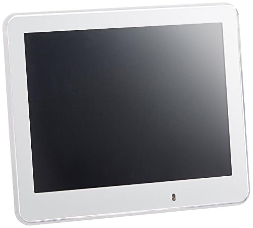 告白忍耐勇者ラドンナ デジタルフォトフレーム クリアエッジ 8インチ DP18-80 ホワイト