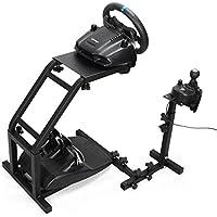 Racing Wheel Stand ホイールスタンド Logitech G29/T150/T300/T500 レーシングホイールス [並行輸入品] (Logitech G25 / G27 / G29)