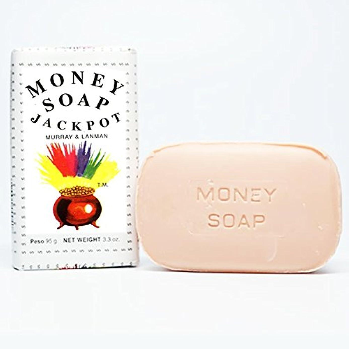 合理化少なくとも偶然のMurray & Lanman マネージャックポット石鹸3.3Ozことによってお金ソープ