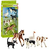 Schleich SC42386 Assorted Farm World Animals Figurines
