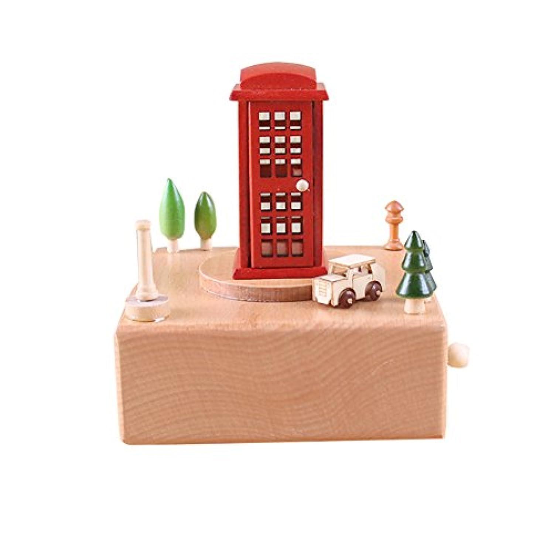 オルゴール 音楽ボックス かわいい 木製 ミュージカルボックス 手作り 装飾 子供 友達 誕生日 クリスマス プレゼント ギフト