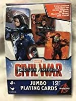 Captain America Civil War Jumbo Playing Cards [並行輸入品]