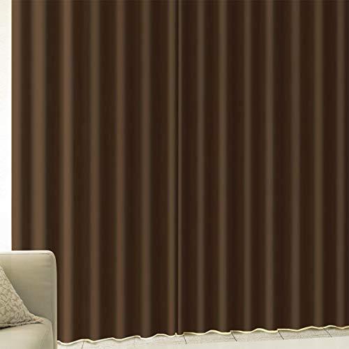 [カーテンくれない] 厚手生地で【しっかり遮光】 完全遮光生地使用の1級遮光カーテン 遮音 防音効果で生活...