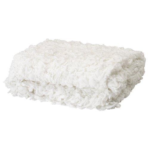 IKEA(イケア) OFELIA 60173856 毛布, ホワイト