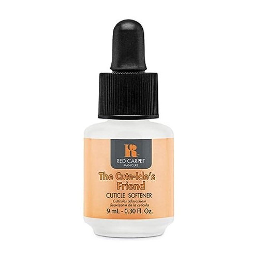 ワゴン石灰岩腐敗したRed Carpet Manicure - Nail Treatments - The Cute-Icle's Friend Cuticle Softener - 0.3oz / 9ml
