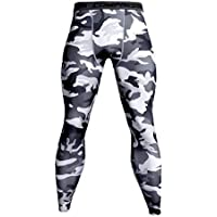 Zooka New Pants Men Camouflage Fitness Pants Skinny Leggings Crossfit Quick Dry Thin Track Pants Gyms Bodybuilding Tight Compression