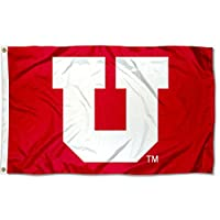 College Flags and Banners Co. Utah Utes ビッグUフラッグ
