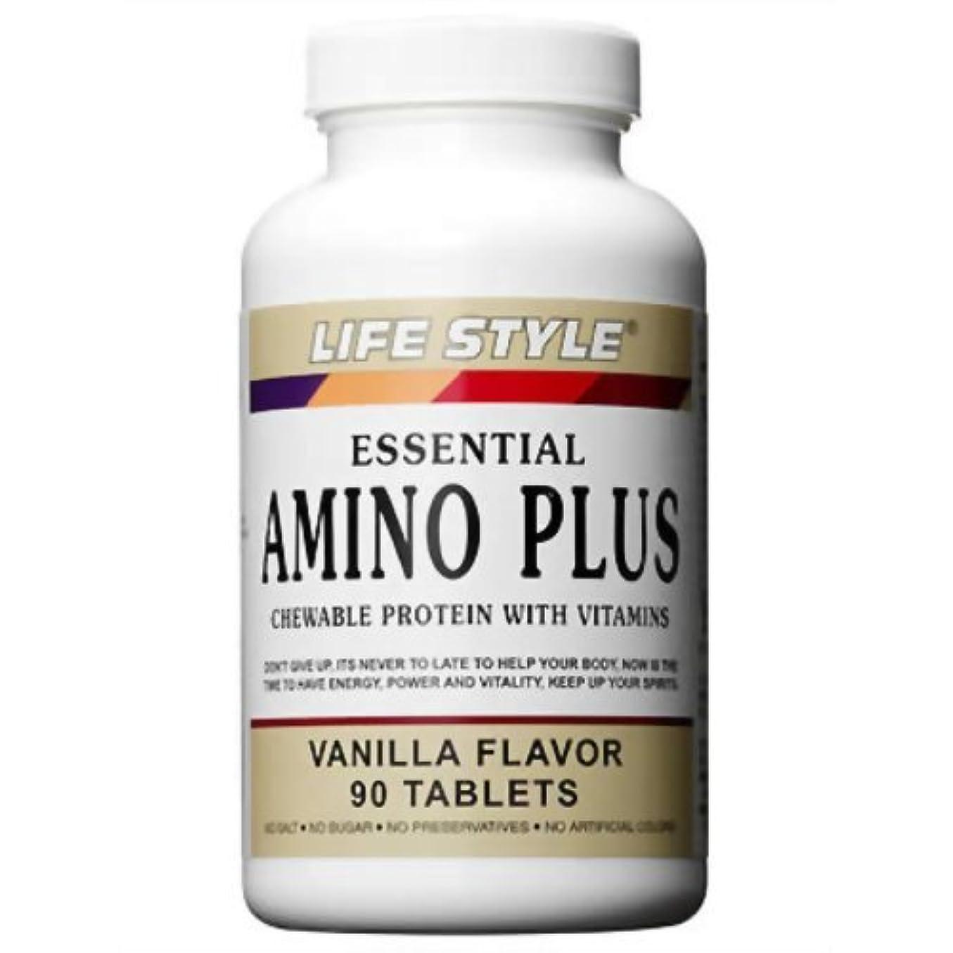 忠実に洗剤壮大ライフスタイル(LIFE STYLE) アミノ?プラス ビタミン&カルシウム 90粒