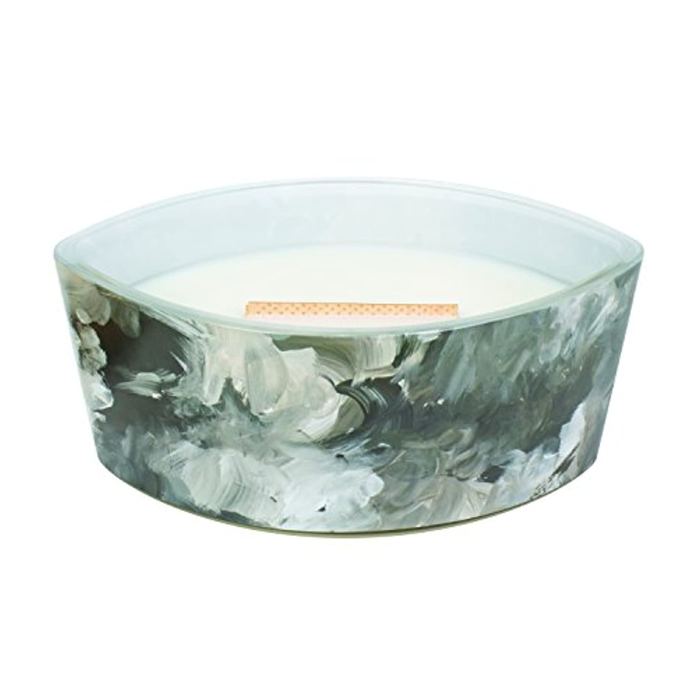 広範囲レインコート不屈ブラックオレンジCitrus – アーティザンコレクション楕円WoodWick香りつきJar Candle
