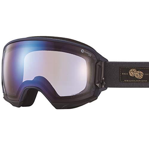 【国産ブランド】DICE(ダイス) スキー スノーボード ゴーグル ハイローラー 紫外線で色が変わる ULTRAレンズ ミラー 調光 プレミアムアンチフォグ HR84265MNV