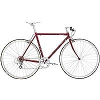 FUJI(フジ) BALLAD 56cm 8speed BORDEAUX クロスバイク 2018年モデル 18BALDBD BORDEAUX 56cm