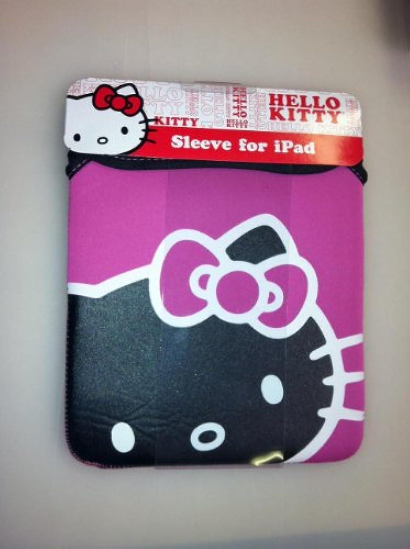 ファンドラム親密なギフトで最も注目コンボセット – Sanrio Hello Kitty iPadスリーブケースと1つHello Kitty歯ブラシセット