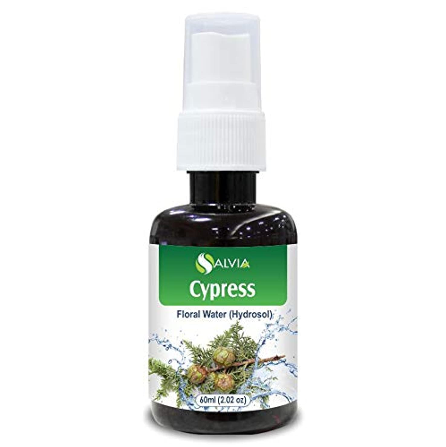 寝てる作家受動的Cypress Floral Water 60ml (Hydrosol) 100% Pure And Natural