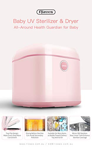 Rizees Baby UV Steriliser and Dryer, White