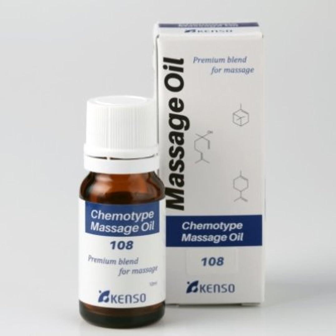 モンスタースリンク小道ブレンドマッサージオイル 元気に過ごしたいとき喉や胸に10ml NARDレシピNo.108