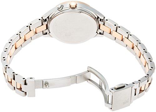 [ルキア]LUKIA 腕時計サブマスコミモデル  ソーラー電波修正 サファイアガラス  スーパークリア コーティング 10気圧防水 SSVV012 レディース