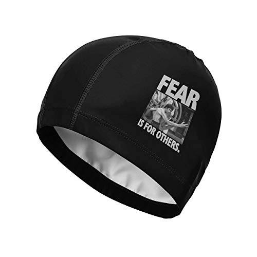 91cd6dcf54be7 FEAR IS FOR OTHERS Bruce Lee ブル−ス リ− スイムキャップ スイミングキャップ 大人