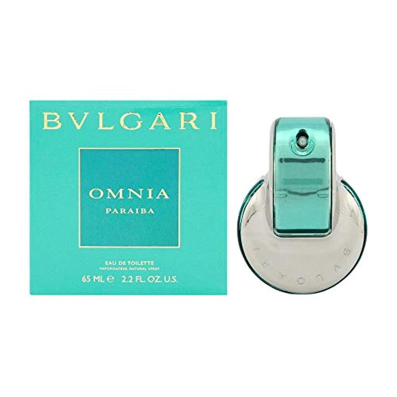 ラップパーフェルビッド故障BVLGARI ブルガリ オムニアパライバ 65ml EDT レディース 香水 [並行輸入品]