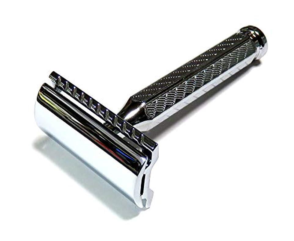 西部追放する早いMERKUR Solingen - Safety razor, chromed, closed comb, 9042001