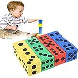 Manyao 12本3.7センチメートルEVA発泡スチロールの子供の初期教育おもちゃクリエイティブギフトゲームの世界