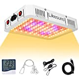 Likesuns 1000W LED Plant Grow Light for Indoor Plants - Full Spectrum Double Switch Veg and Bloom for Succulents, Herbs and F