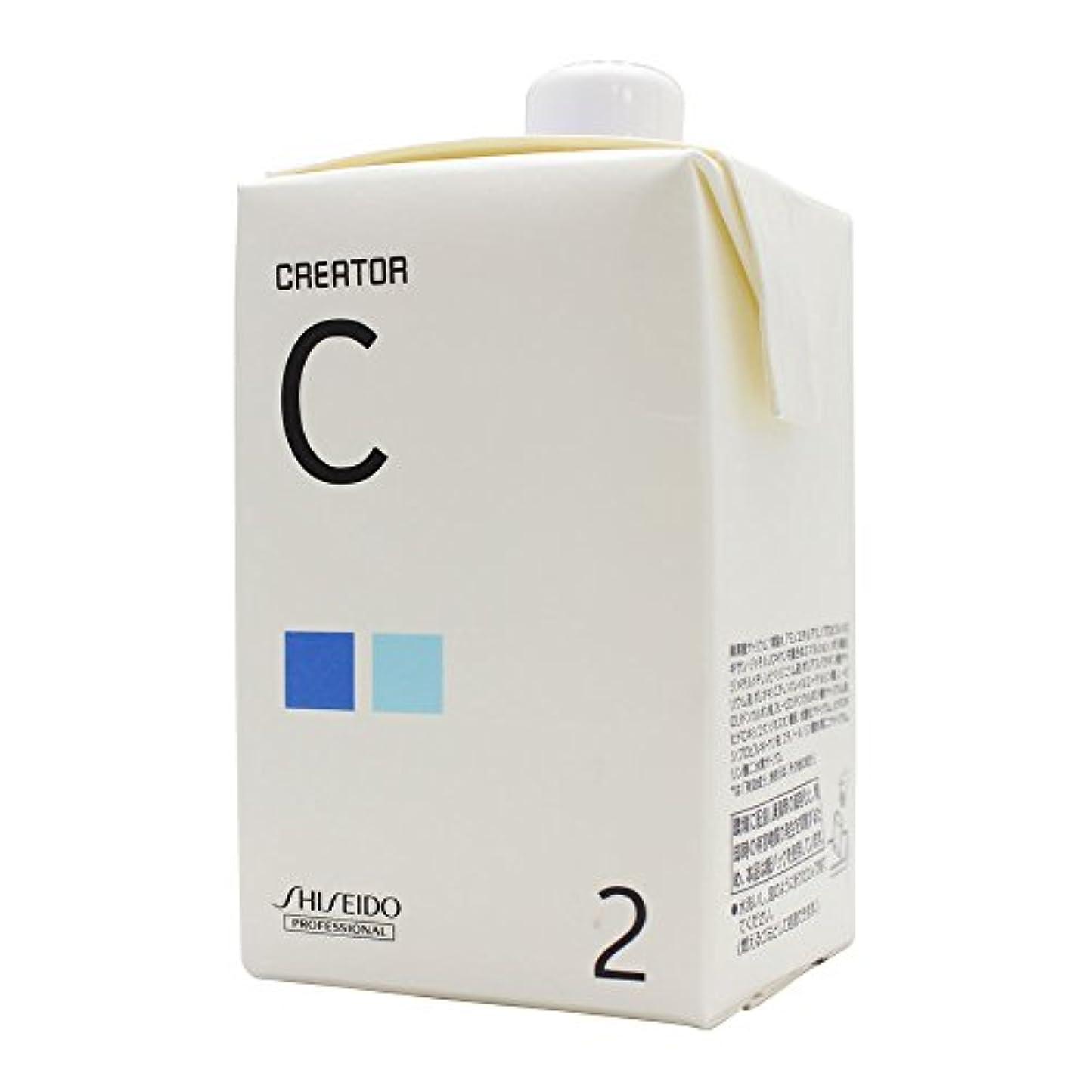 また明日ね効率仮定、想定。推測資生堂 クリエイター C 第2剤 400ml パーマ液
