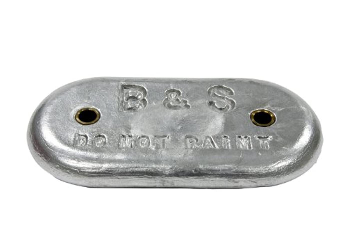 正しくくぼみ法王Bossler & Sweezeyプレート亜鉛5lbs 8 oz – bsmb6