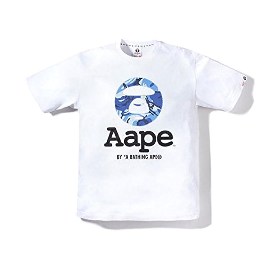 バース知覚的通りAAPE A BATHING APE (エーエイプ バイ ア ベイシング エイプ)Tシャツ メンズ 学生 半袖 百搭Tシャツ上着 男性