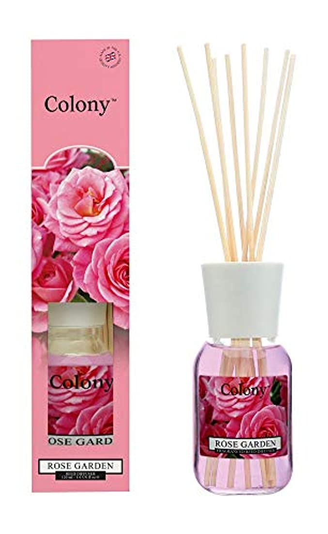 緩やかな見捨てられた美容師Colony HomeScents Series リードディフューザー 120ml ローズガーデン CNCH2224