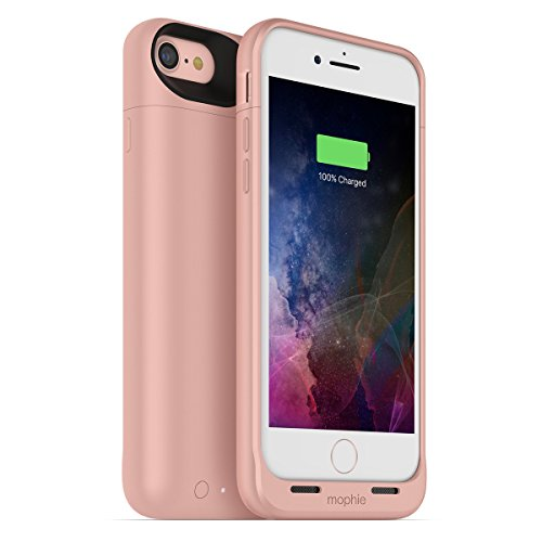 mophie juice pack air for iPhone 7 ワイヤレス充電機能付き バッテリーケース ローズゴールド日本正規代理店品 MOP-PH-000147