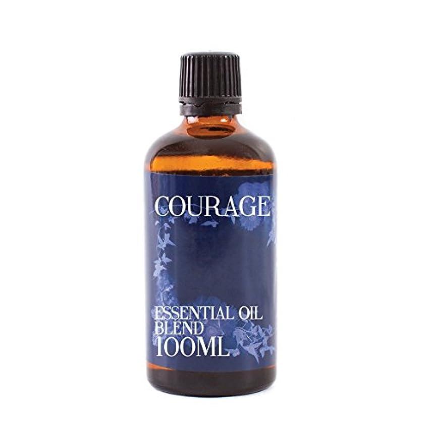 ダイヤモンド適切なあいさつMystic Moments | Courage Essential Oil Blend - 100ml - 100% Pure