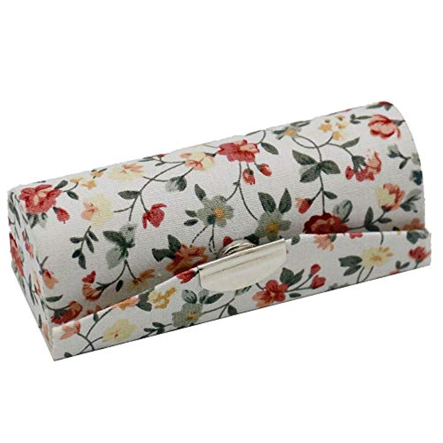ピジン安全でない系譜C-Weiwei 和雑貨 かわいい 和小物 プレゼント 口紅ケース 母の日 さくら 桜 ギフト (Aホワイト)